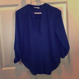 Lush size XS blouse royal blue